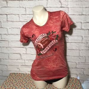 Oklahoma worn out style shirt. New with out tag.